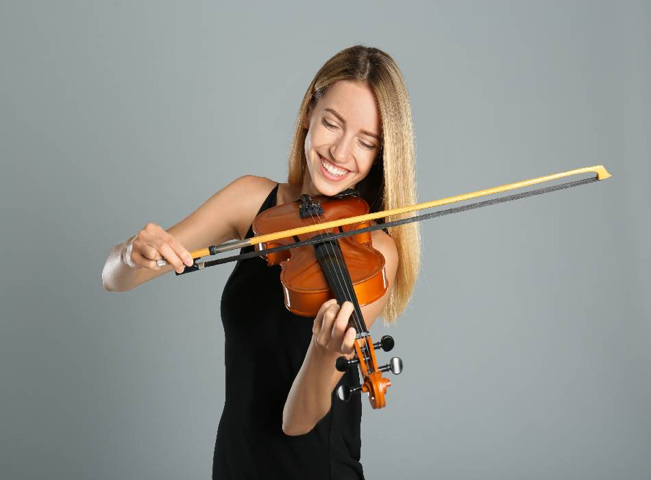 Happy Girl Playing Music - 8TH SENSE